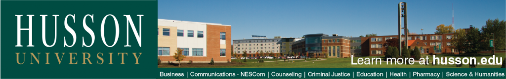 Banner ad for Husson University