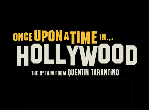 Once Upon A Time In Hollywood Logo