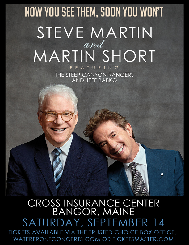 Steve Martin and Martin Short tour poster