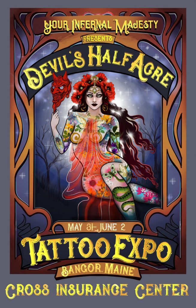 Devil's Half Acre event poster