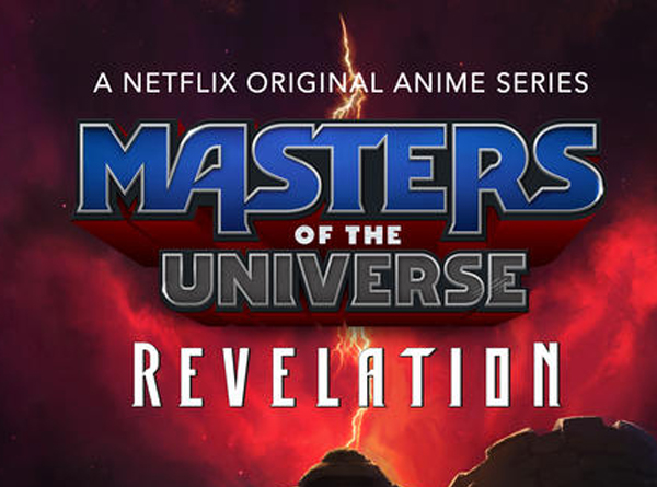 Masters of the Universe Revelation Logo