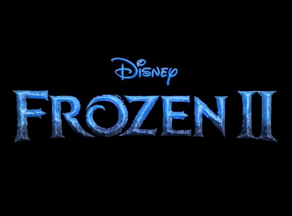 Frozen 2 logo, Disney