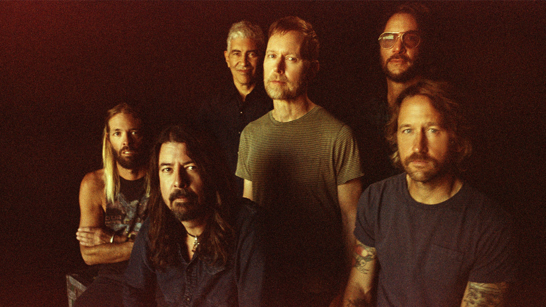 Group photo of Foo Fighters. Photo credit Danny Clinch