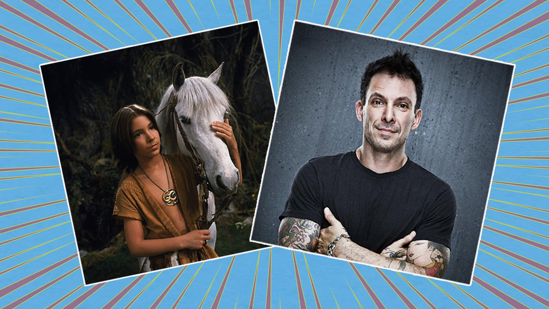 pictures of Atreyu in the Never Ending Story and actor Noah Hathaway
