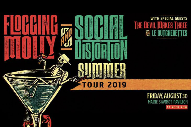 Flogging Molly Social Distortion Ticket Giveaway Banner