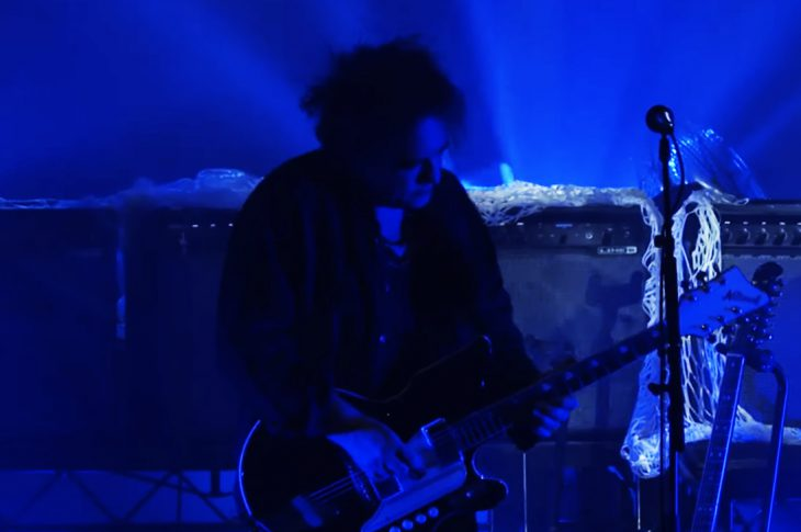 The Cure live in concert