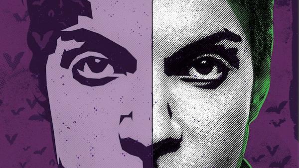Purple Brainz event poster. Artist rendering of Prince.