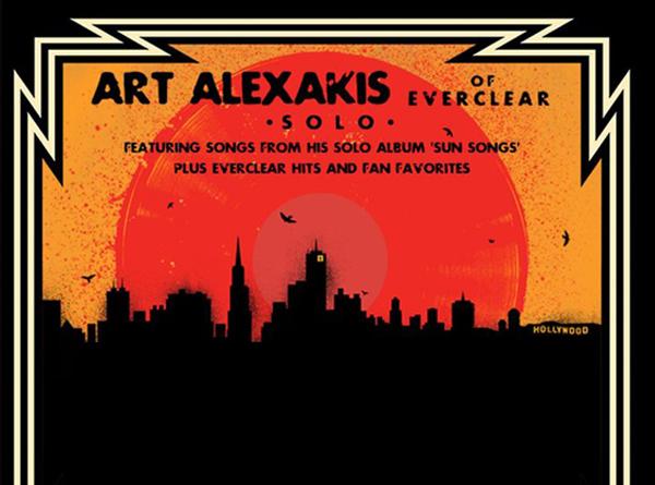 Art Alexakis Tour Poster