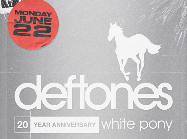 Deftones listening party artwork