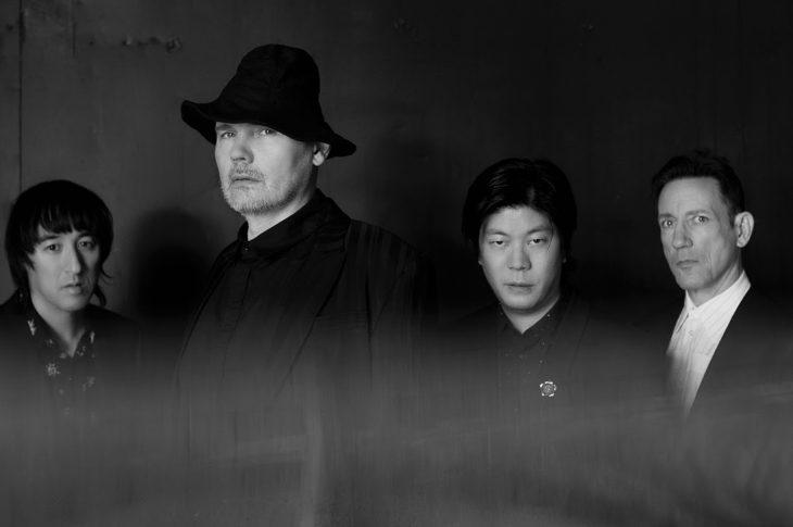 Photo of Smashing Pumpkins band members by Jonathan Weiner