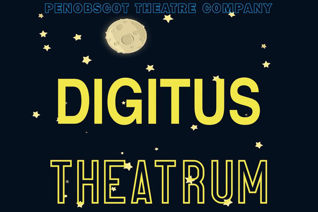 Penobscot Theatre Company's Digitus Theatrum logo.