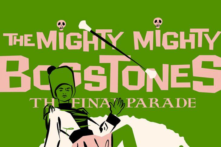 Album art for The Final Parade - illustration of drum majorette