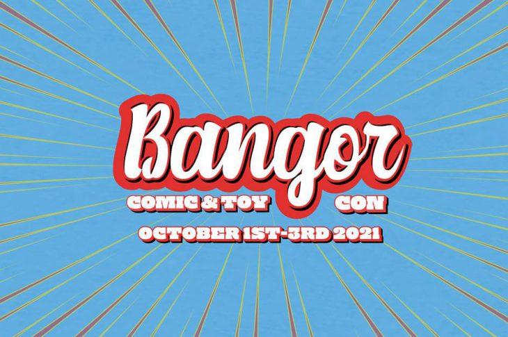 Bangor Comic & Toy Convention Logo