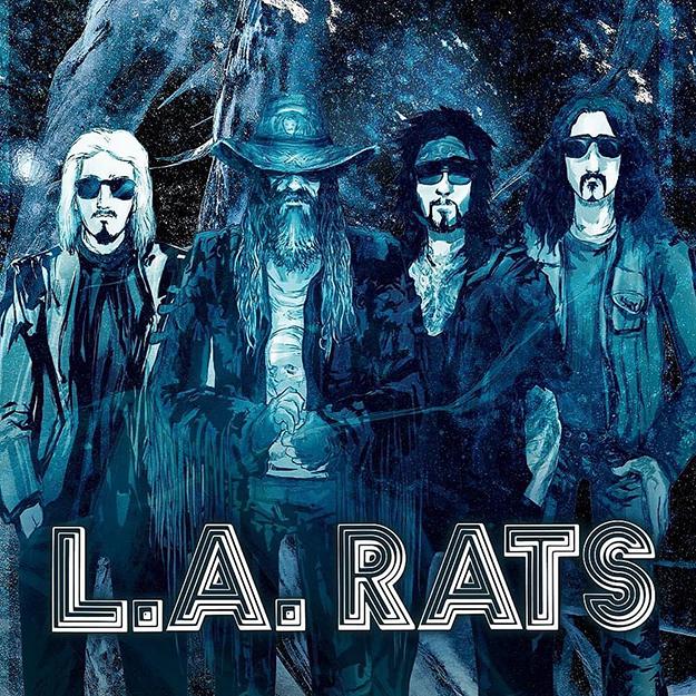 artist rendering of members of LA Rats