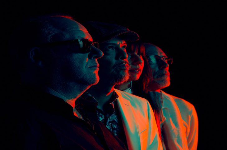 Pixies: L-R: Black Francis, Joey Santiago, Paz Lenchantin, David Lovering Photo Credit: Travis Shinn