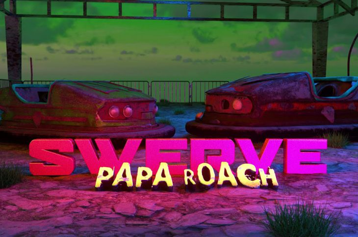 graphic of bumper cars with SWEVE in decorative text.